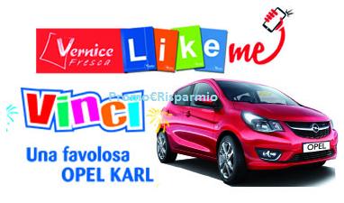 Logo Concorso Vernice Fresca e vinci un auto OPEL Karl