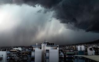 Έρχεται ο «Μίνωας» με καταιγίδες, χαλάζι και πτώση θερμοκρασίας