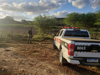 Homem é morto quando trabalhava na zona rural de Nova Floresta