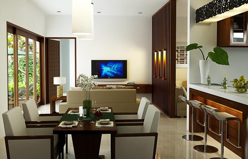 Interior Ruang Keluarga Ruang Makan Dan Minibar Wajib Baca
