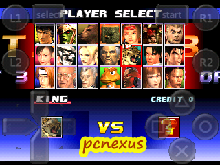 tekken 3 all players in fpse