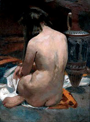Casto Plasencia Maestro, Artistic nude, The naked in the art, Il nude in arte, Fine art, Painter Casto Plasencia, Casto Plasencia