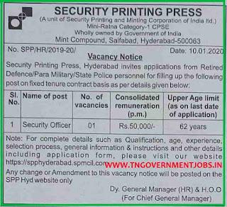 Security-Printing-Press-Hyderabad-Jobs-2020
