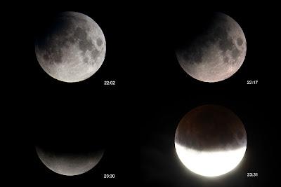 Eclipsi de lluna parcial