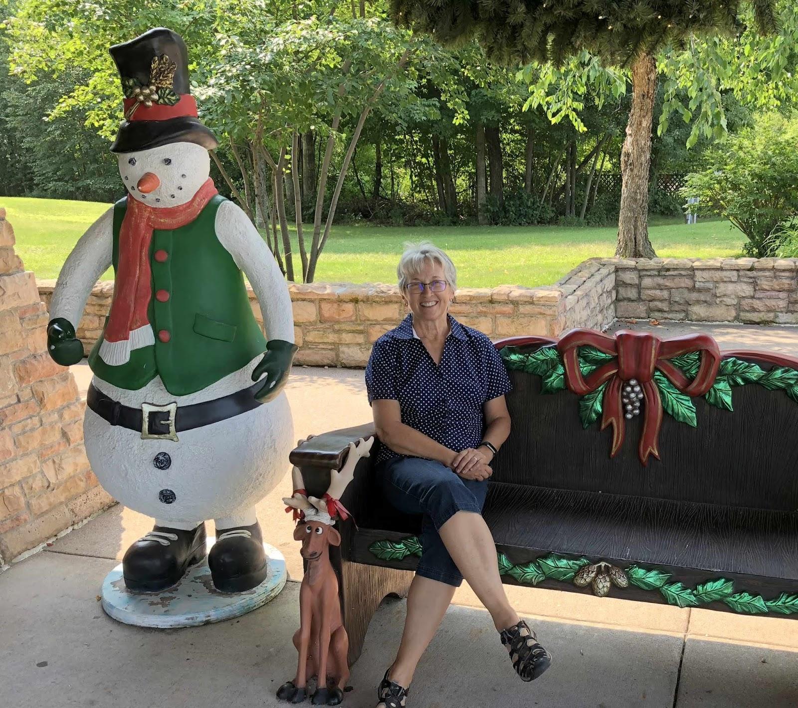 Wandering His Wonders: Christmas in August in Christmas, Michigan