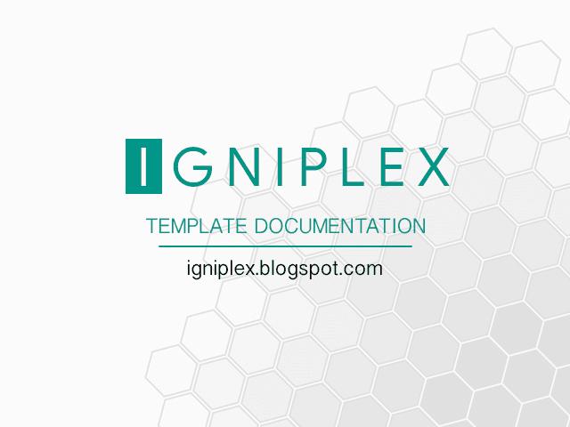 Documentation Template Igniplex
