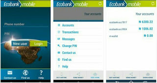 EcoBank Mobile App Android