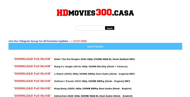 HDmovies300 2020: Download 300mb Movies, Hindi Dubbed Movies