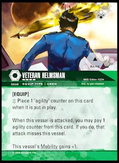 Equip type: Veteran Helmsman