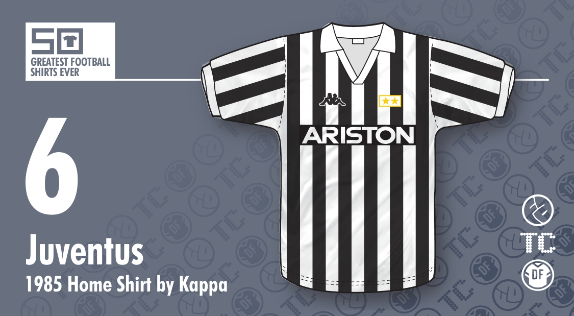 finest selection 61e23 ee017 The 50 Greatest Football Shirts Ever: #6 - Juventus 1985 ...