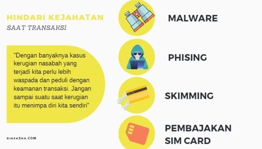infografis kejahatan saat transaksi