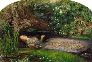 John Everett Millais - Ofelia (1952)