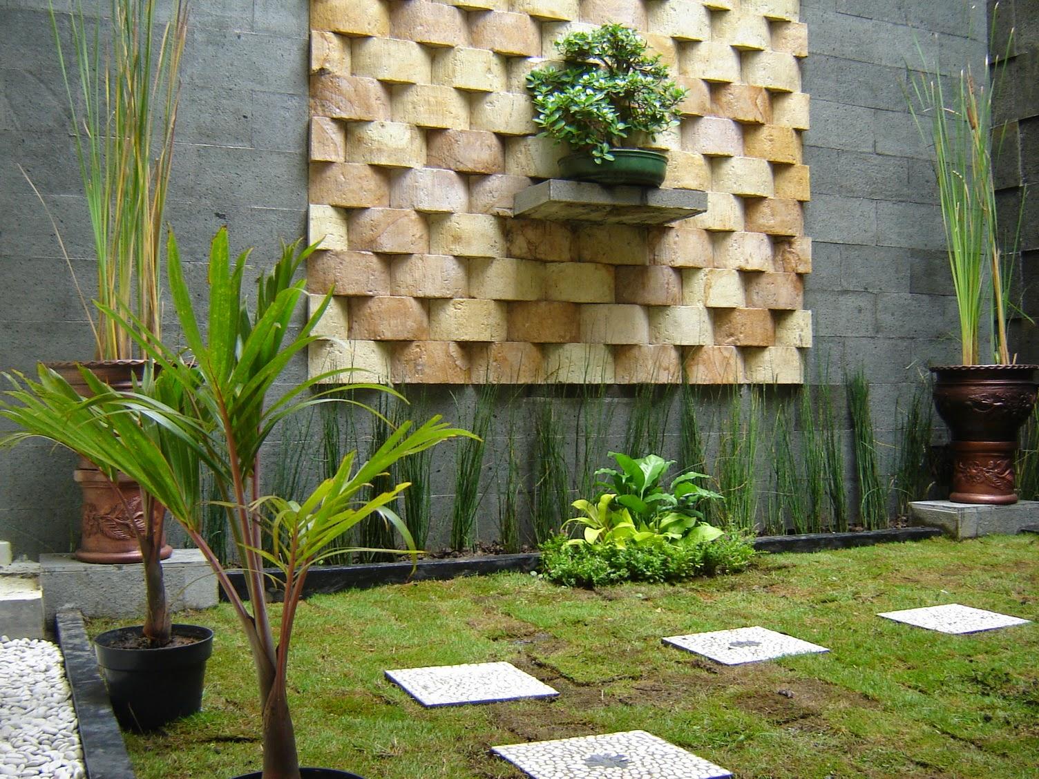 76 Desain Taman Minimalis Batu Alam Gratis Terbaik