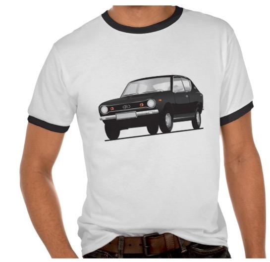datsun, nissan, cherry, e10, 100A, 120A, t-shirts