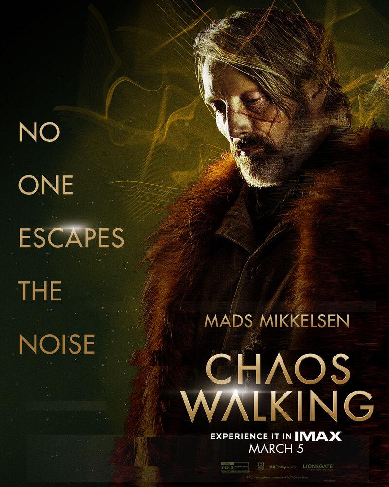chaos walking poster mads mikkelsen
