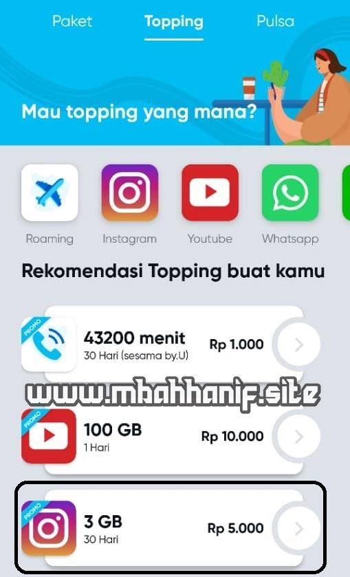 Byu Paket Instagram