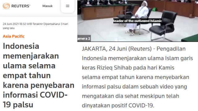 Vonis Hukum HRS Disorot Media Internasional, Djoko Edhi: Kasus HRS Sudah Jadi Urusan Dunia