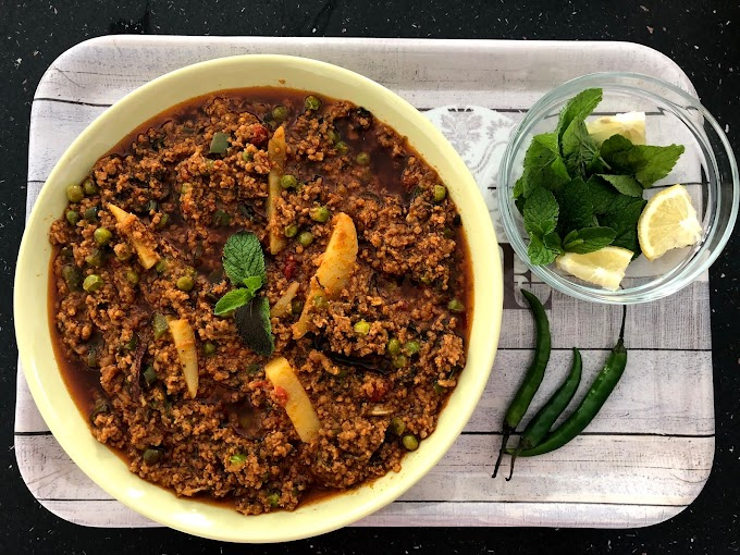Mutton Keema Recipe | Mince Meat Recipe | Keema Matar Recipe