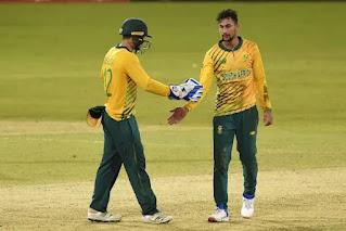 Sri Lanka vs South Africa 1st T20I 2021 Highlights