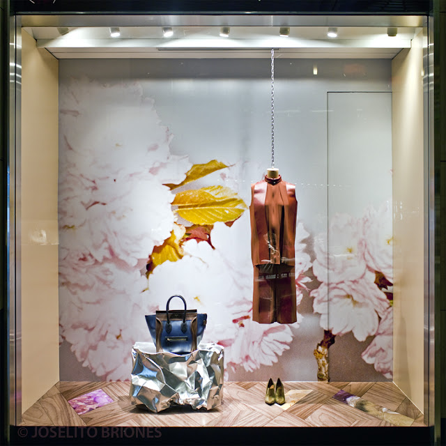 Celine Hong Kong Window Display