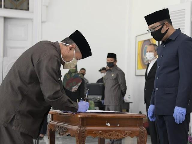 Ini Kadisdik dan Pejabat Baru di Lingkungan Dinas Pendidikan Jawa Barat