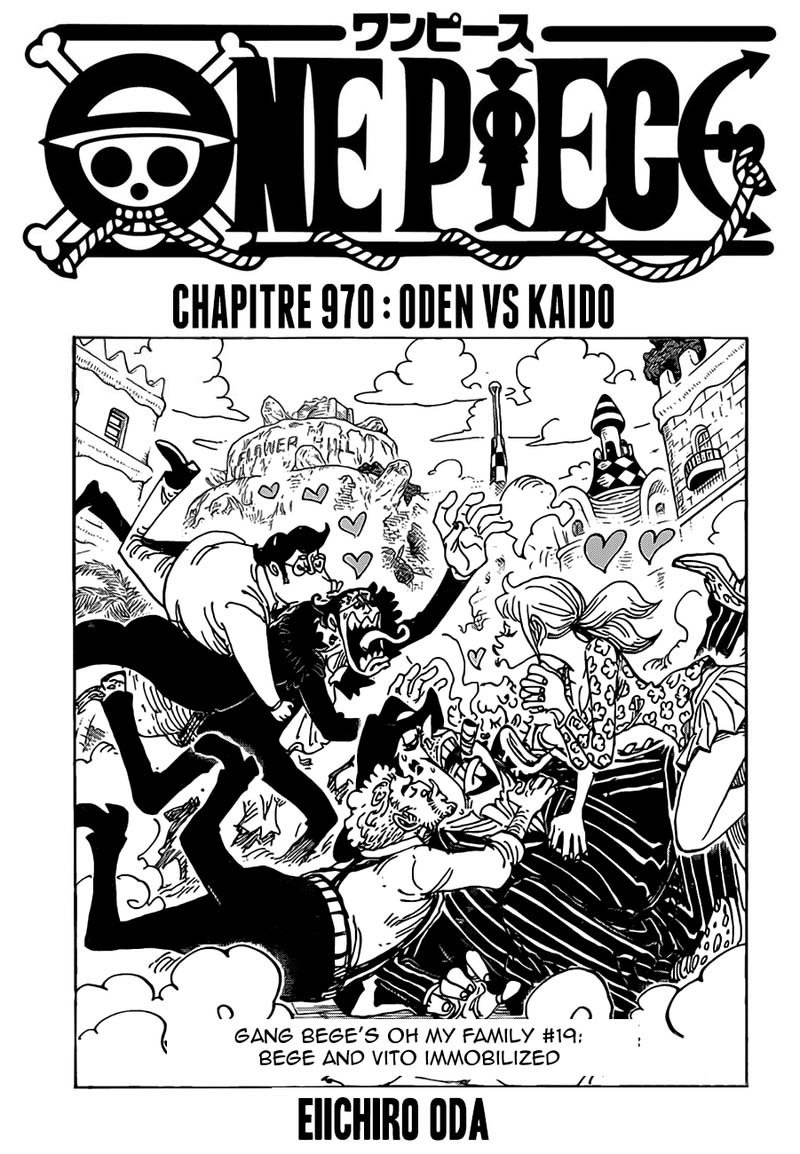 One Piece Manga Chapter 970 - Image 001