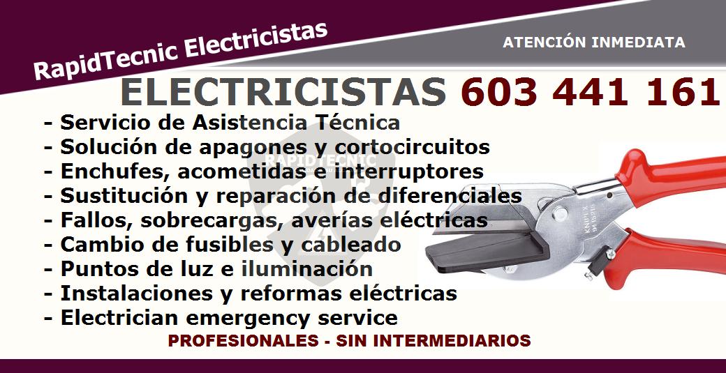 Reparando electricista la coracha m laga 603 441 161 for Trabajo de electricista en malaga