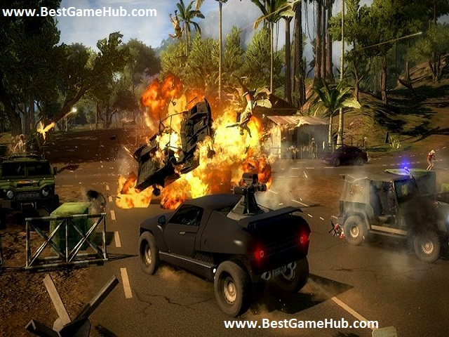 Just Cause 2 high compressed free download