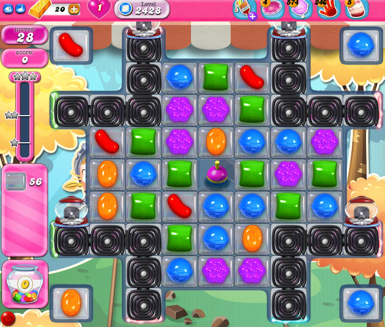 Candy Crush Saga level 2428