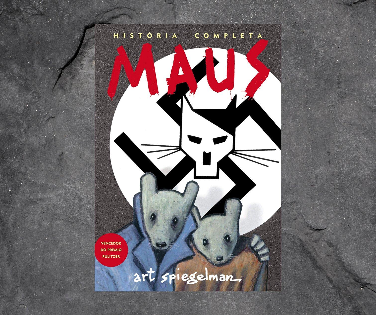 Resenha: Maus, a História de um Sobrevivente, de Art Spiegelman