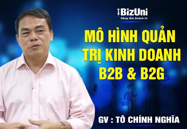 Share khóa học Mô hình Quản trị kinh doanh B2B & B2G