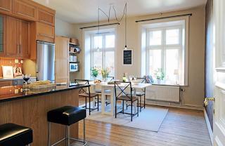 Entire apartment interior design and decor