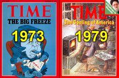 Die globale Abkühlung der 1970er Jahre