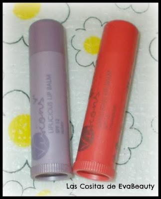 Decluttering Bálsamos labiales con color de oriflame