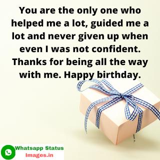 Birthday Status Images