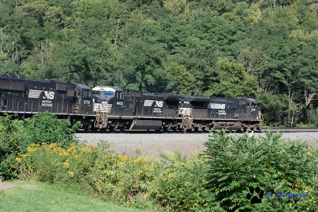 """Horseshoe Curve with Norfolk Southern"" (C) Allen Pearson Photography"