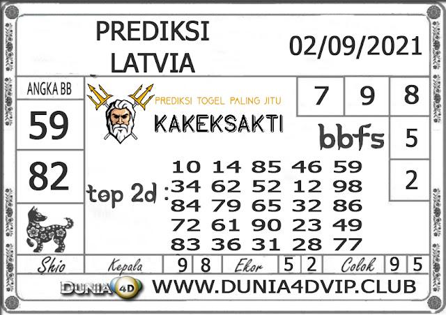Prediksi Togel LATVIA DUNIA4D 02 SEPTEMBER 2021