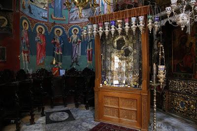Η Παναγία η Πορταΐτισσα στην Μονή Ιβήρων