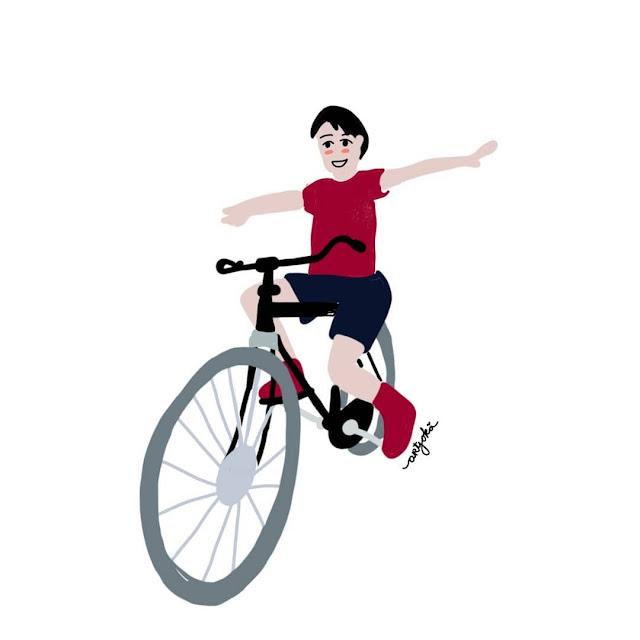 tips mengajarkan anak bersepeda