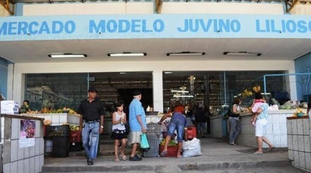 Mercado da Patos-PB, serão abertos nestas segunda e terça-feira de carnaval