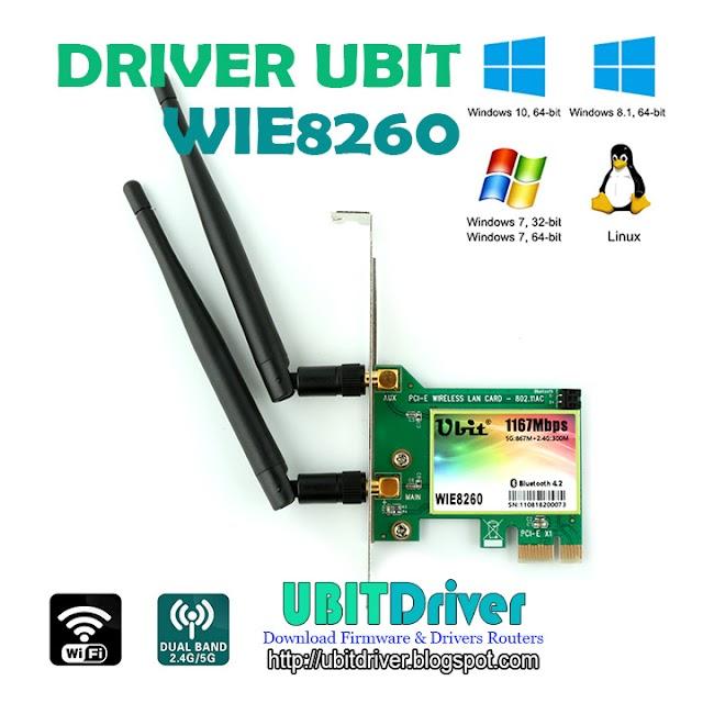 Ubit Driver WIE8260 Gigabit AC 1200Mbps