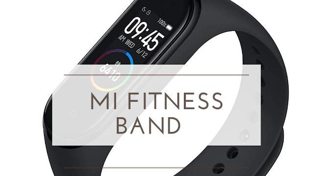 MI Fitness band Amazon