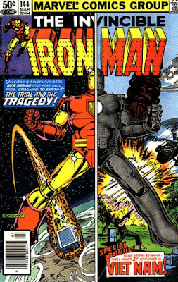 Iron Man #144, the origin of Rhodey