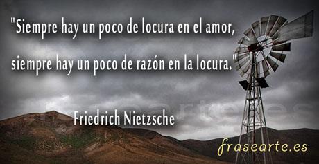 Frases de amor Friedrich Nietzsche