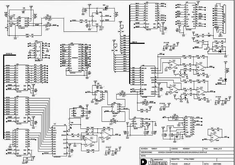 china brushless dc motor: Inverter Integrated Circuit Diagram