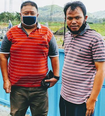 Direktur M16, Bambang Mei Finarwanto SH bersama Ketua Pemuda NW NTB, M Zainul Pahmi
