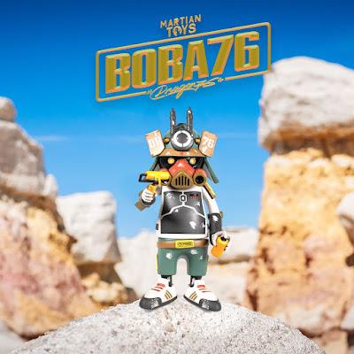 BOBA76 Ouroboros Star Wars Vinyl Figure by Dragon76 x Martian Toys