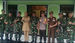 Forkompinda Sambut Panglima TNI di Acara Apel Secaba