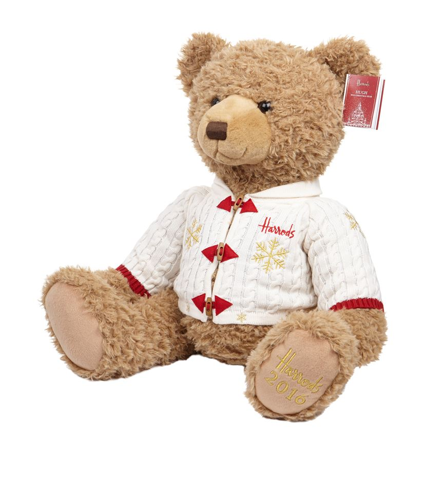 for the most magical time of the year harrods have created hugh their 2016 christmas bear