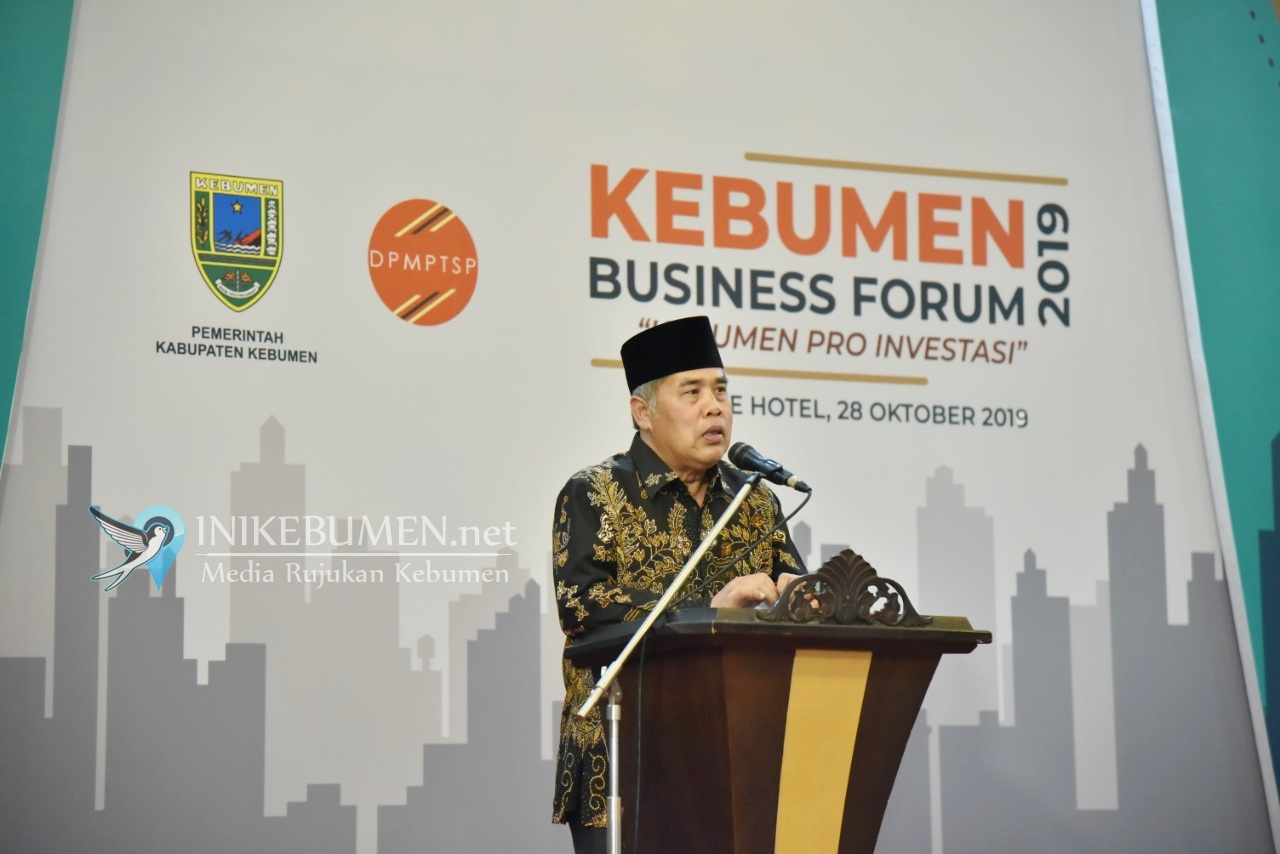 Top! Hingga September 2019, Nilai Investasi di Kebumen Capai Rp 777,5 miliar